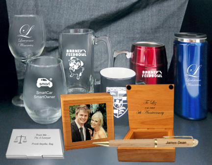 Drinkware & Engraved Gifts