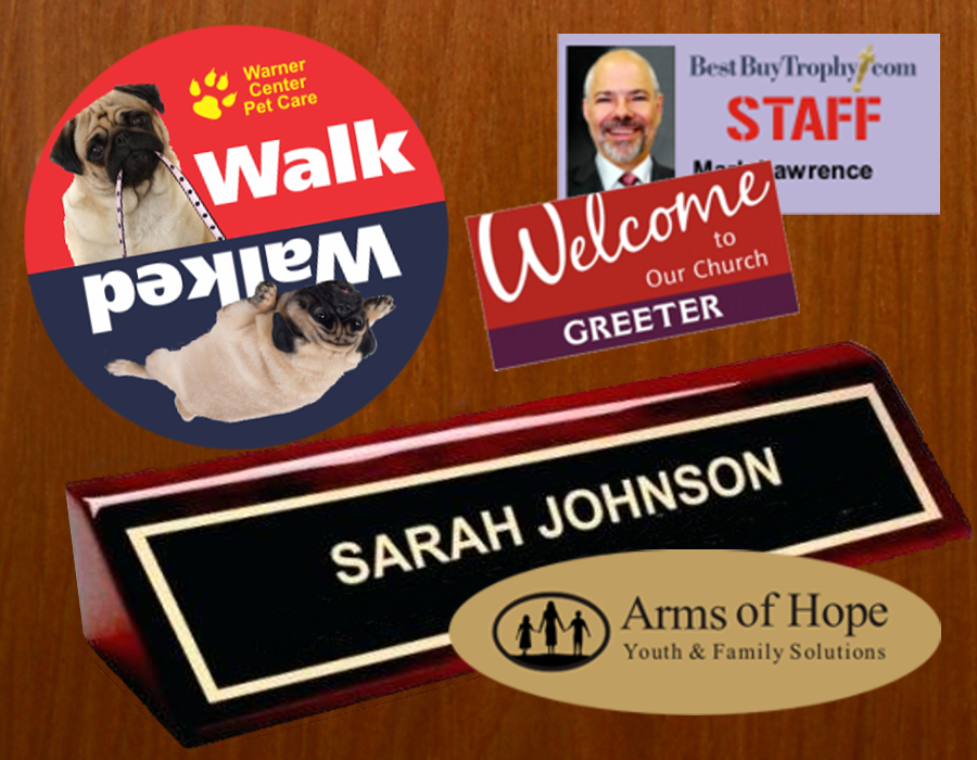 Signs Name Badges & Name Plates