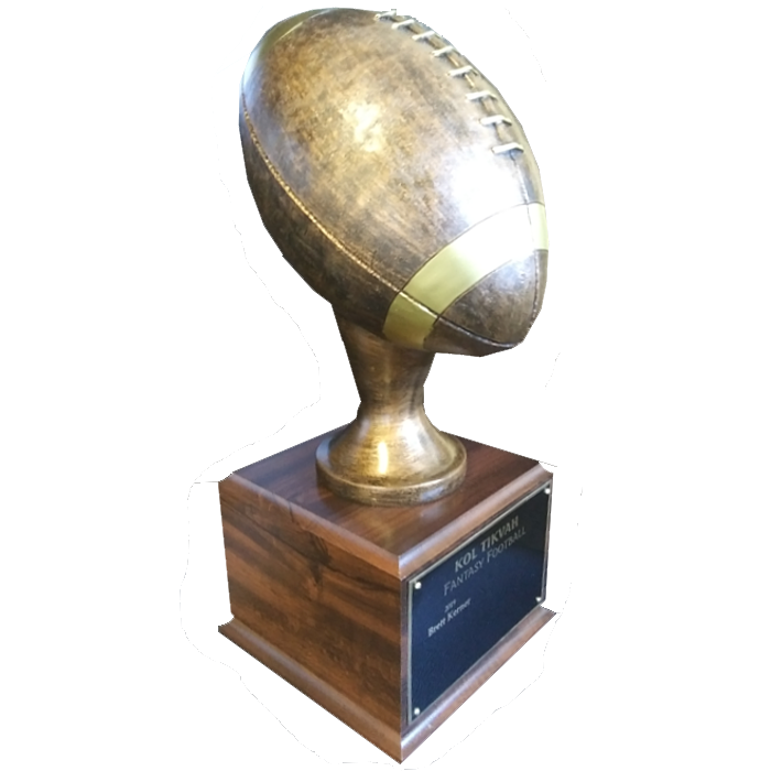 Big Bronze Football Trophy Award - 17