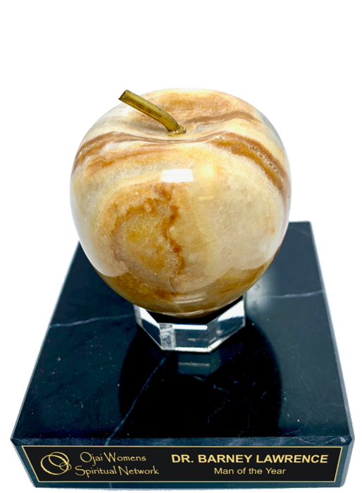 Goldstone Apple Onyx Trophy Award - 3