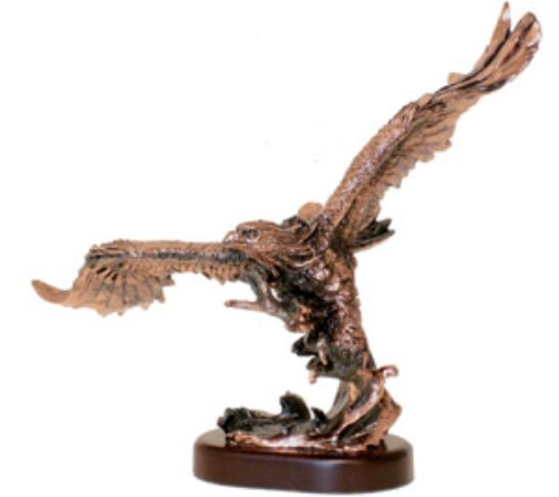 Bronze Soaring Eagle Trophy Award - 11
