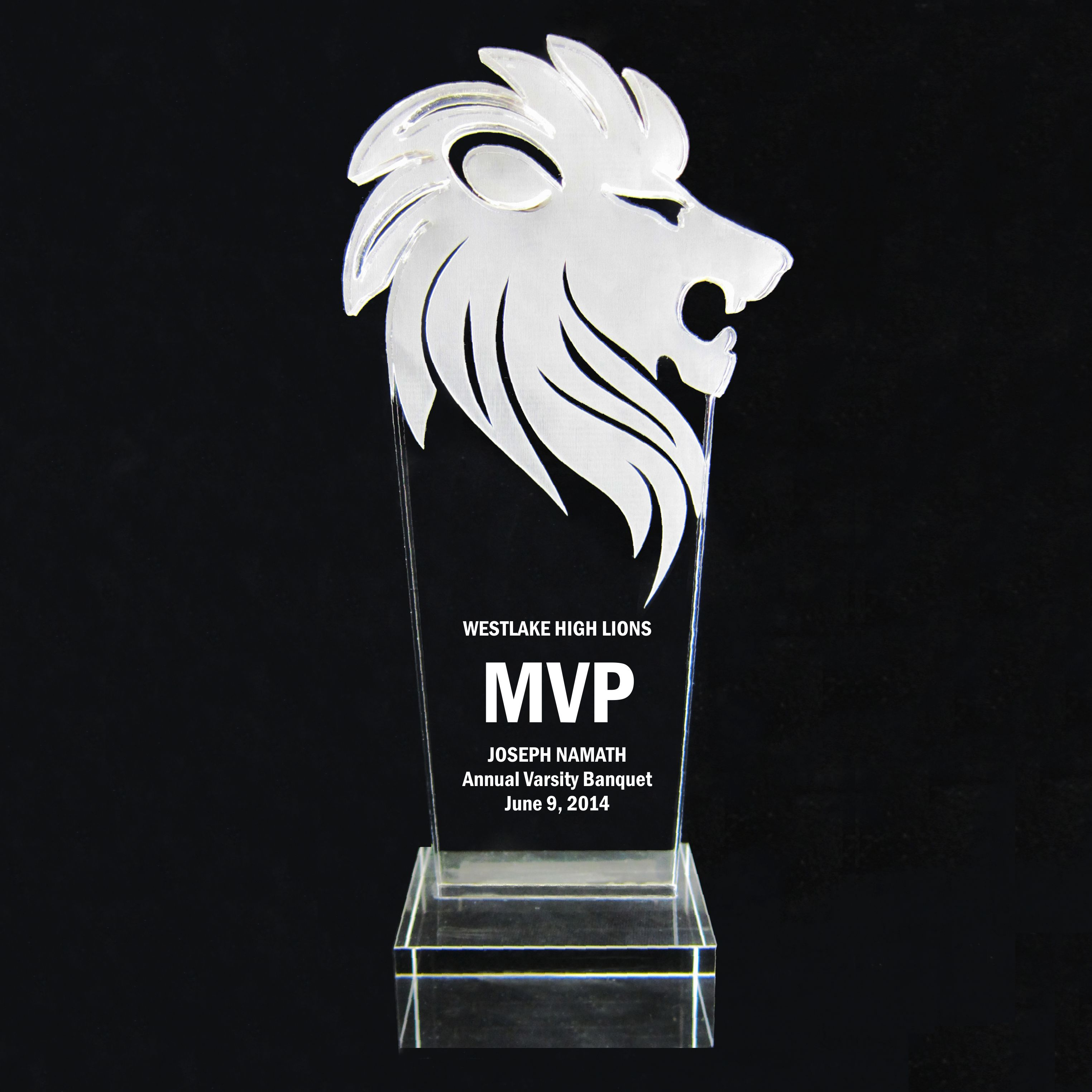 The Lion Trophy Award - 9-1/2''