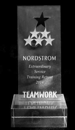 Teamwork Star Acrylic Trophy Award