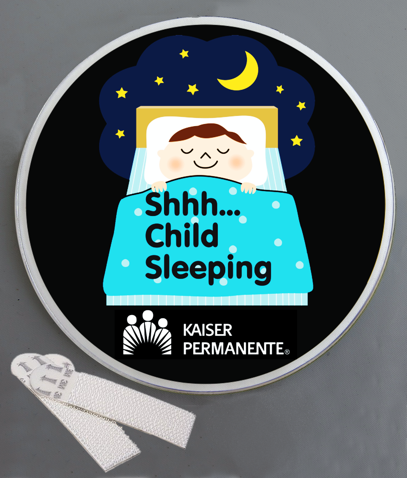 Child Sleeping Wallminder Sign - 4''