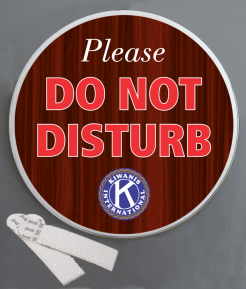 Do Not Disturb Wallminder Sign - 4''