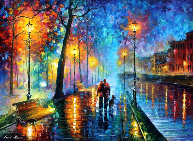 Melody of the Night by Leonid Afremov