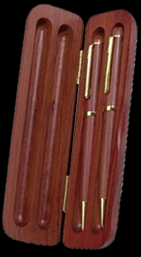 Rosewood Personalized Engraved Box for Pens & Pencils