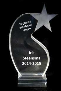 Shooting Star Acrylic Trophy Award